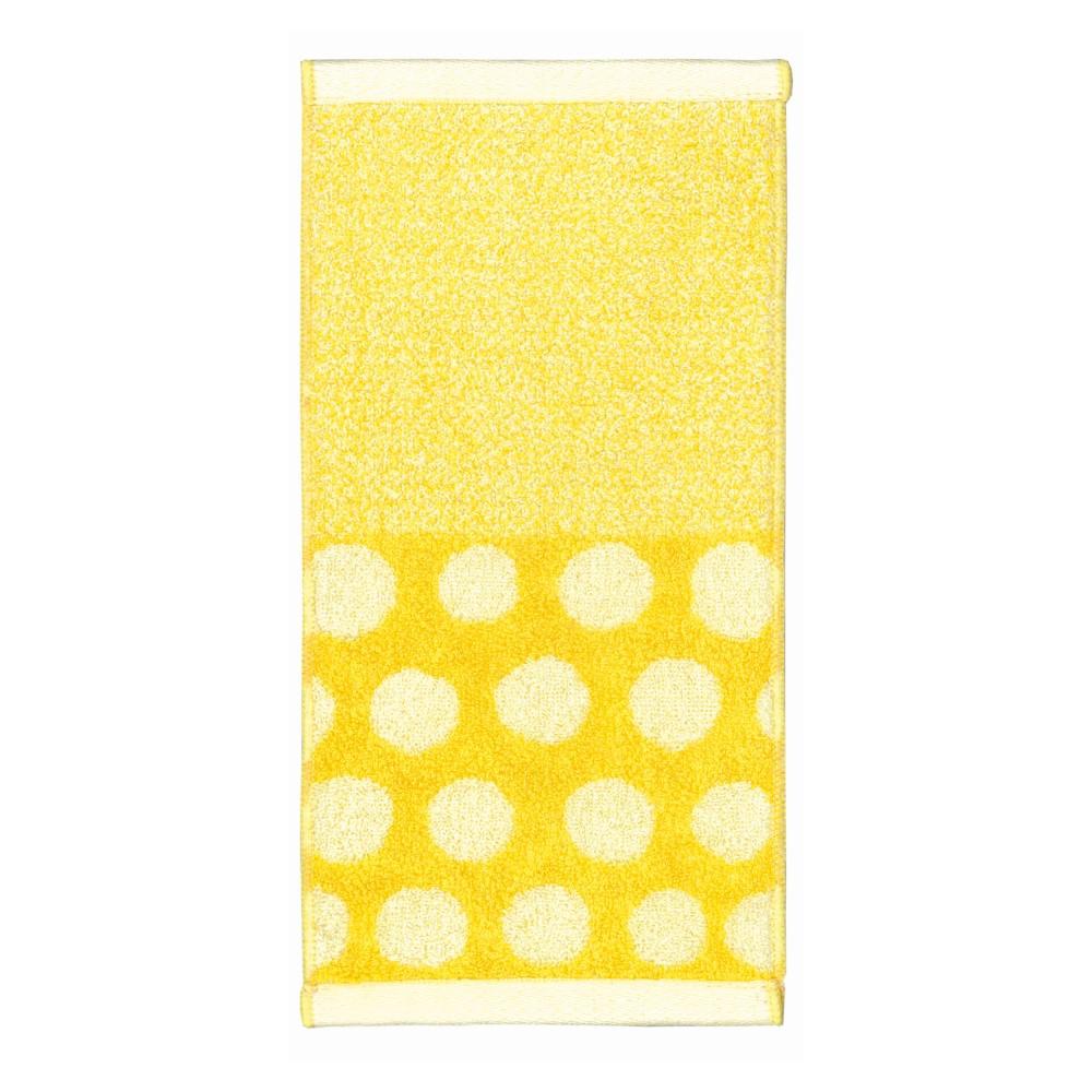 日本Prairie Dog|今治吸水速乾長方巾-黃色點點