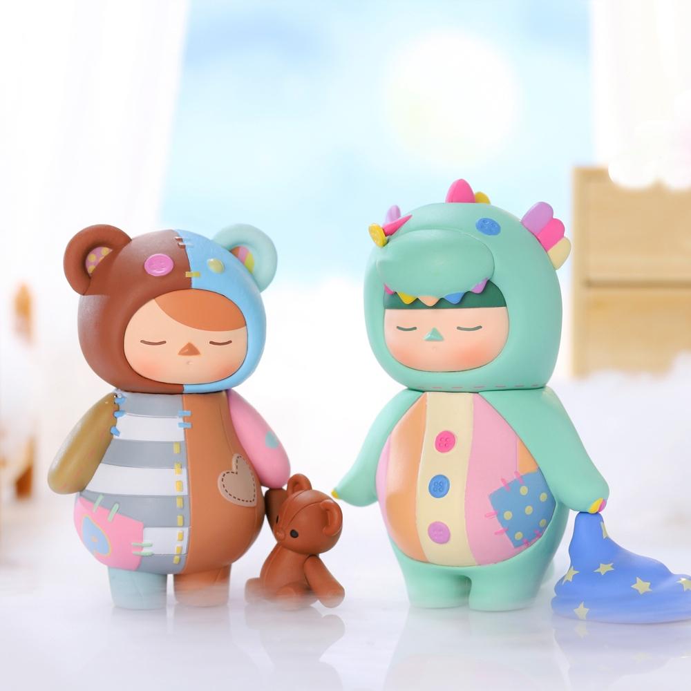 Pucky 畢奇精靈 睡眠寶寶系列公仔盒玩(二入隨機款)