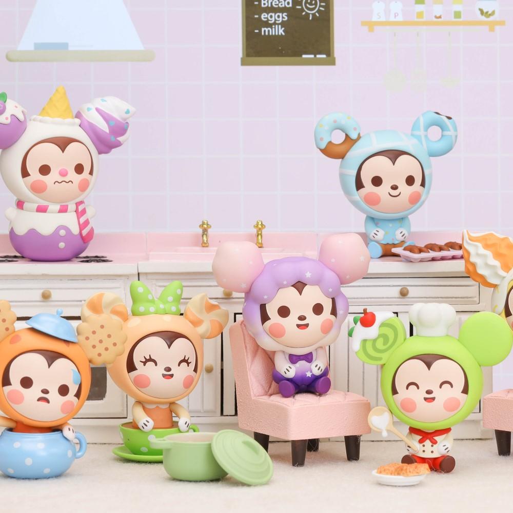 迪士尼坐坐系列|米奇甜點坐坐系列公仔盒玩(12入盒裝)