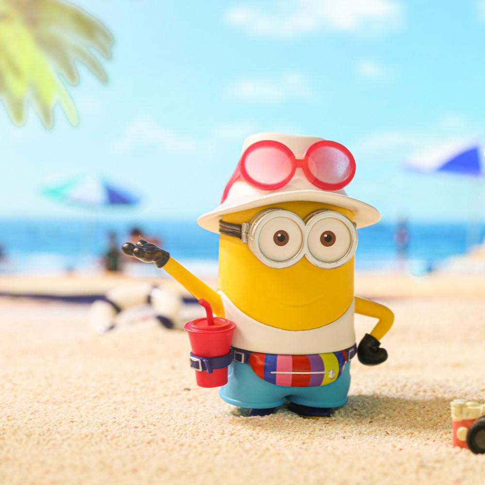 Minions 小小兵|海灘度假系列公仔盒玩(二入隨機款)