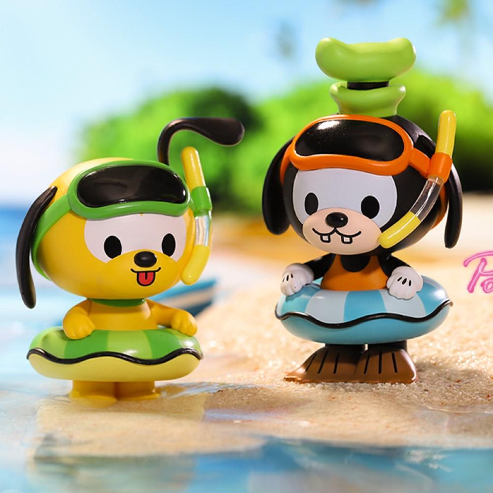 迪士尼系列|米奇家族夏日游泳圈派對系列公仔盒玩(二入隨機款)