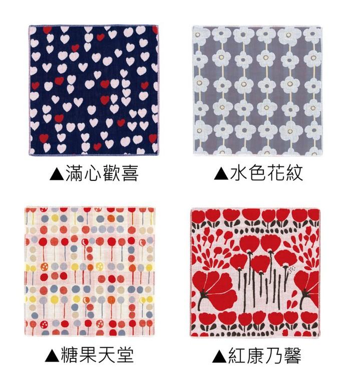 (複製)日本Prairie Dog|今治三層紗方巾-繽紛盛放