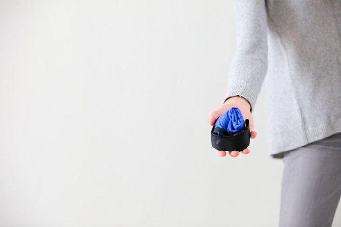 (複製)JULY NINE|可收納式時尚托特包 (肩背單色版) 寶藍