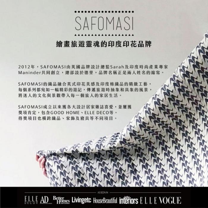 SAFOMASI | 熱汽球針織毯