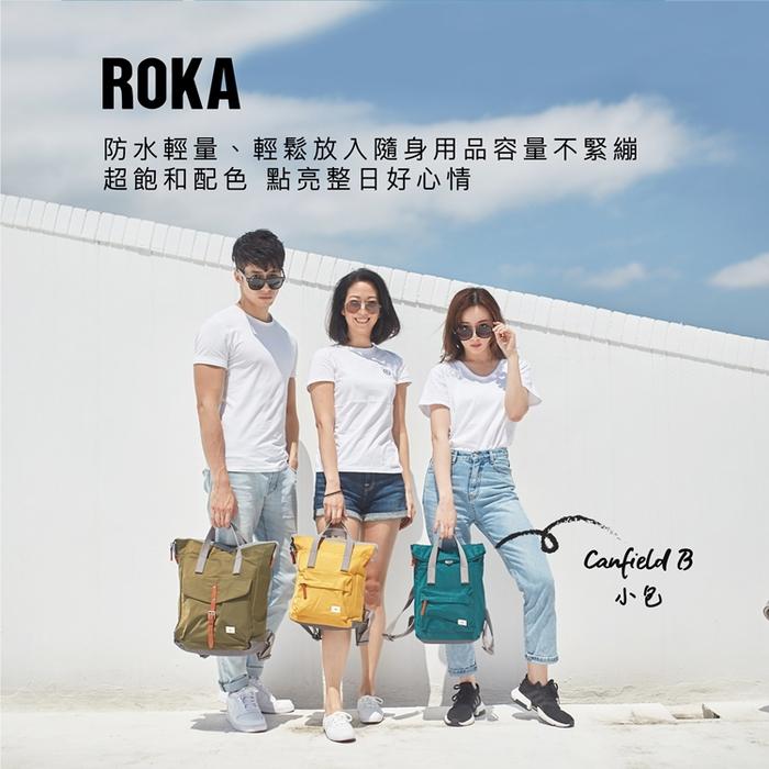 ROKA Canfield B「通勤者」手提肩背兩用後背包(小)- 甜蜜野莓