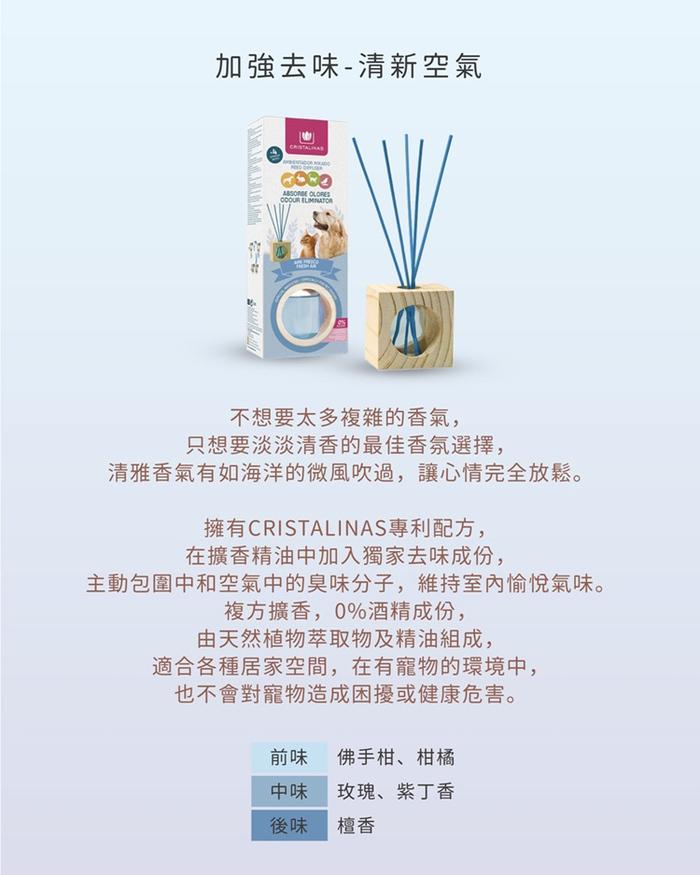 (複製)Cristalinas 小方框植萃香氛 (30ML)- 香草