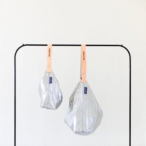 JULY NINE|可收納式時尚托特包 (肩背單色版) 水星亮銀 (特殊色)