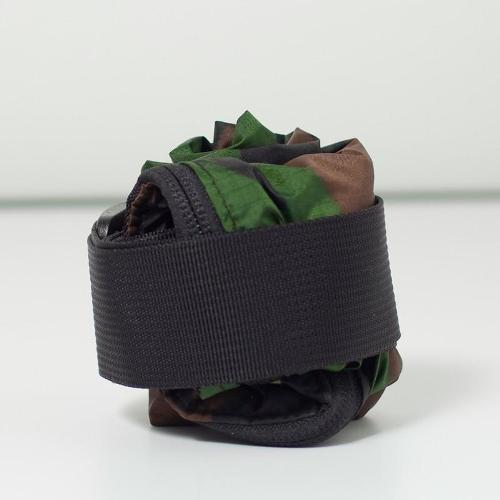 JULY NINE|可收納式拉鍊托特包 (肩背斜背兩用) 迷彩