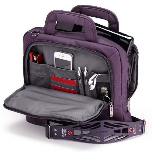 i-stay|創業家多功能減壓電腦包 (紫色) - (13.6電腦/12平版夾層)