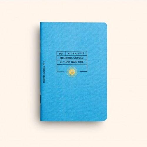 OCTAEVO|旅行主題薄形筆記本  精裝禮盒組