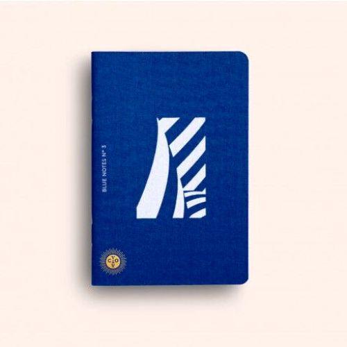 OCTAEVO|藍色主題薄形筆記本 精裝禮盒組