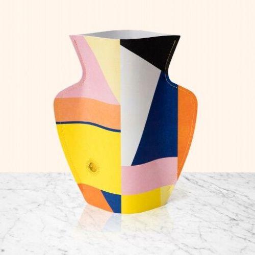 OCTAEVO|西班牙手工防水紙花瓶 (大) BAZAAR