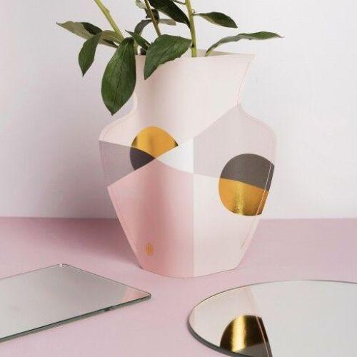 OCTAEVO|西班牙手工防水紙花瓶 (小) SCALA
