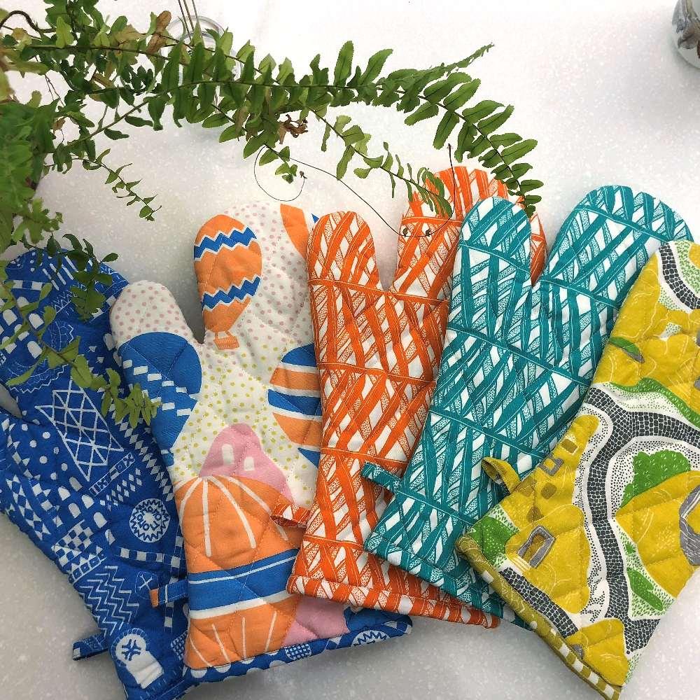 SAFOMASI | 南洋棕櫚隔熱手套 (粉橘)