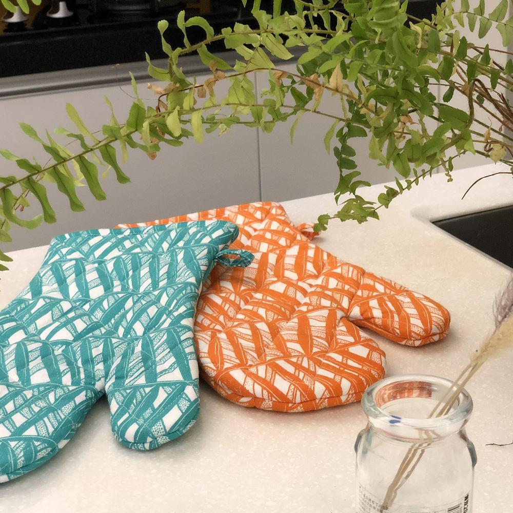 SAFOMASI | 南洋棕櫚隔熱手套 (薄菏綠)