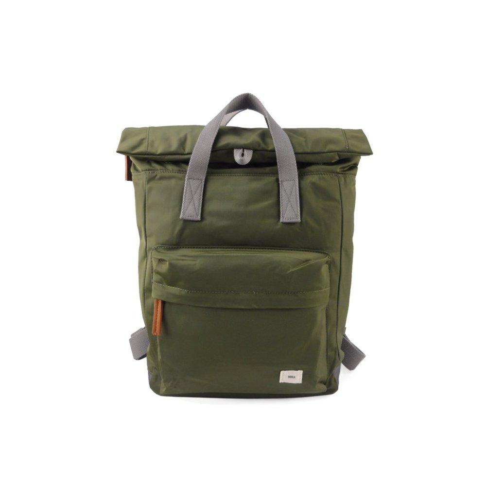 ROKA LONDON|Canfield B「通勤者」手提肩背兩用後背包(中) 軍綠