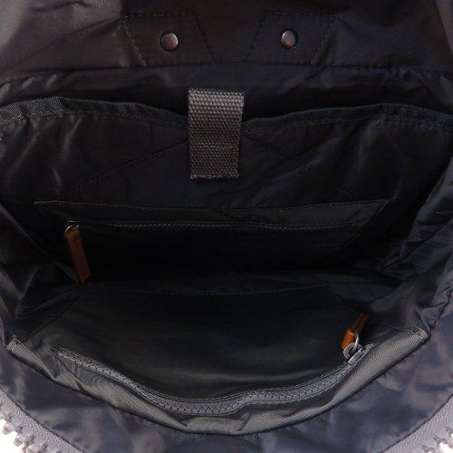 ROKA LONDON|Canfield B「通勤者」手提肩背兩用後背包(中) 墨灰