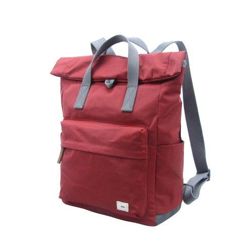 ROKA LONDON|Canfield B「通勤者」手提肩背兩用後背包(中) 磚紅