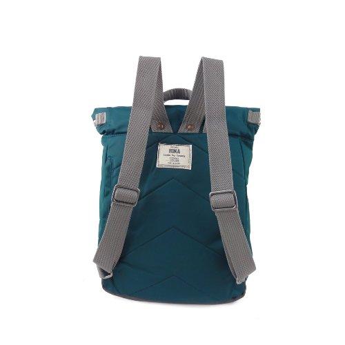 ROKA LONDON|「通勤者」手提肩背兩用後背包(小) 湖綠