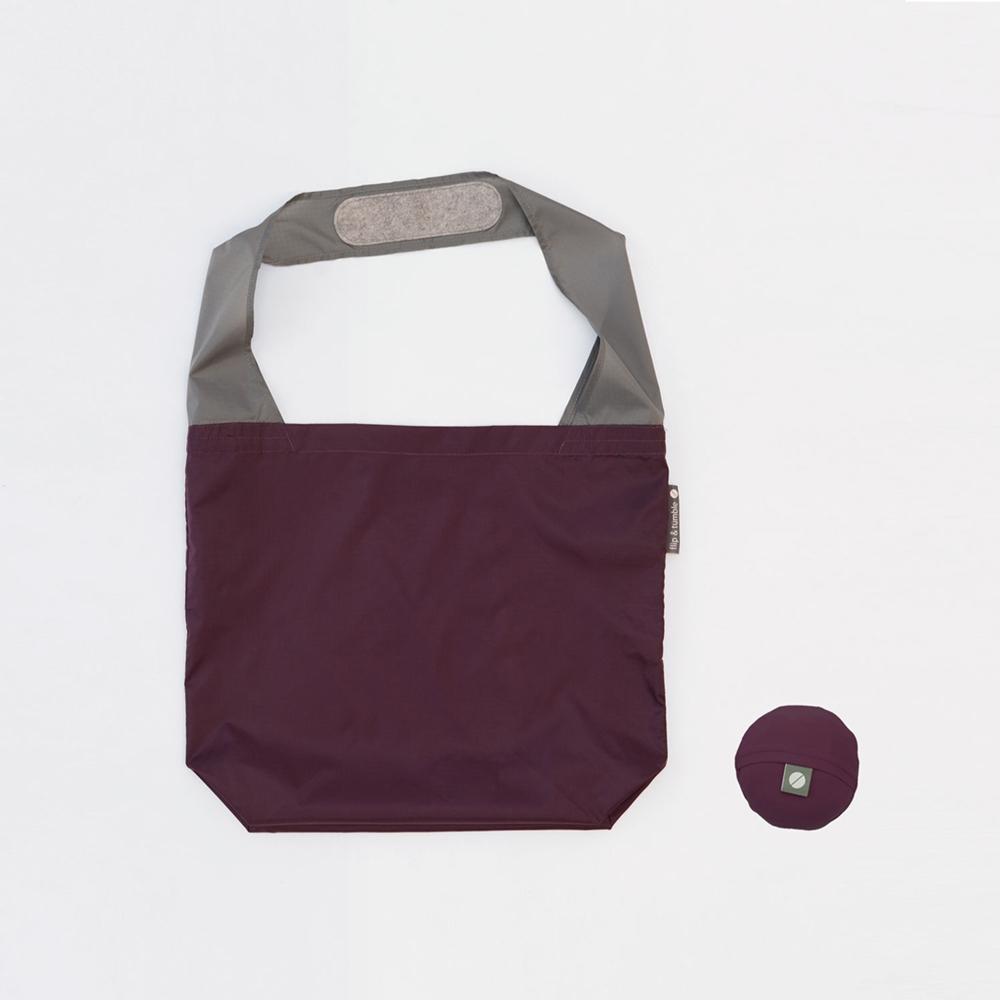 FLIP & TUMBLE|24小時 翻轉彩球包 茄紫