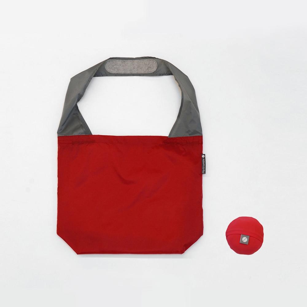 FLIP & TUMBLE|24小時 翻轉彩球包 正紅