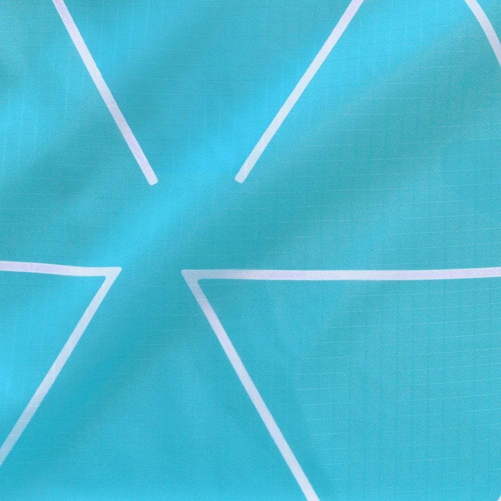 FLIP & TUMBLE|24小時 翻轉印花包 藍綠三角