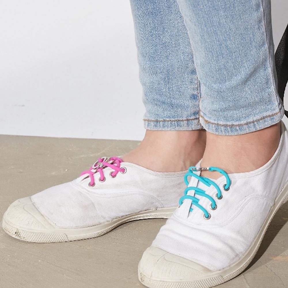 Brappz|瑞士百變運動鞋帶(撞色亮眼組)