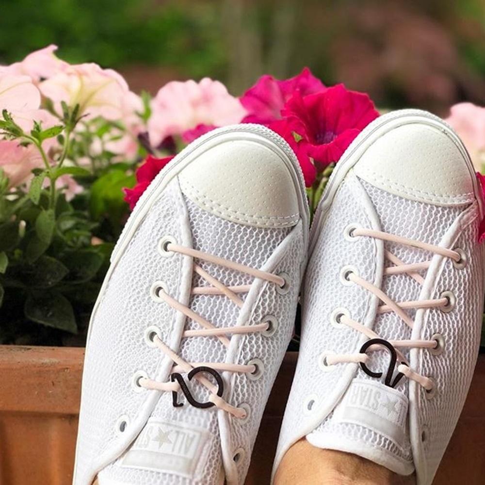 Brappz|瑞士百變運動鞋帶(粉紅清新組)