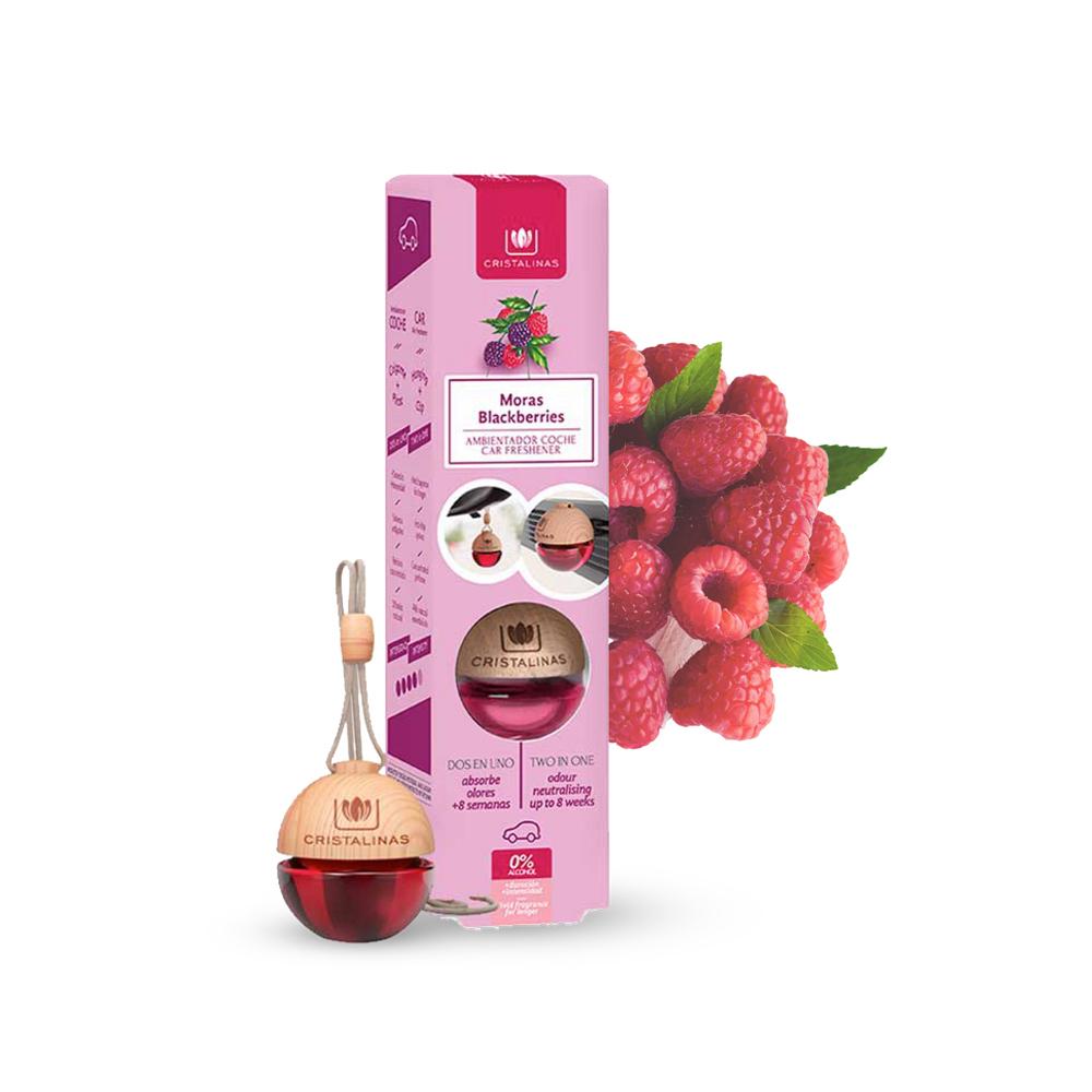 Cristalinas|車用球型植萃香氛 (6ML)- 野莓