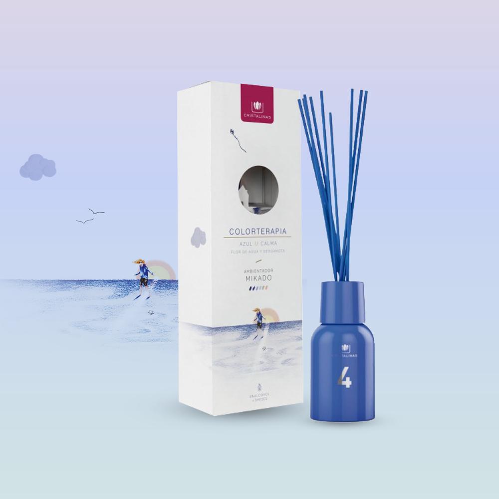 Cristalinas 色彩療法 複方香氛 (125ML)- 海洋藍/清新海洋香調