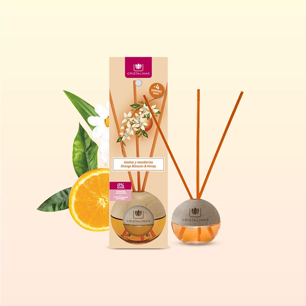 Cristalinas|迷你球形植萃香氛(20ML)- 陽光橙花