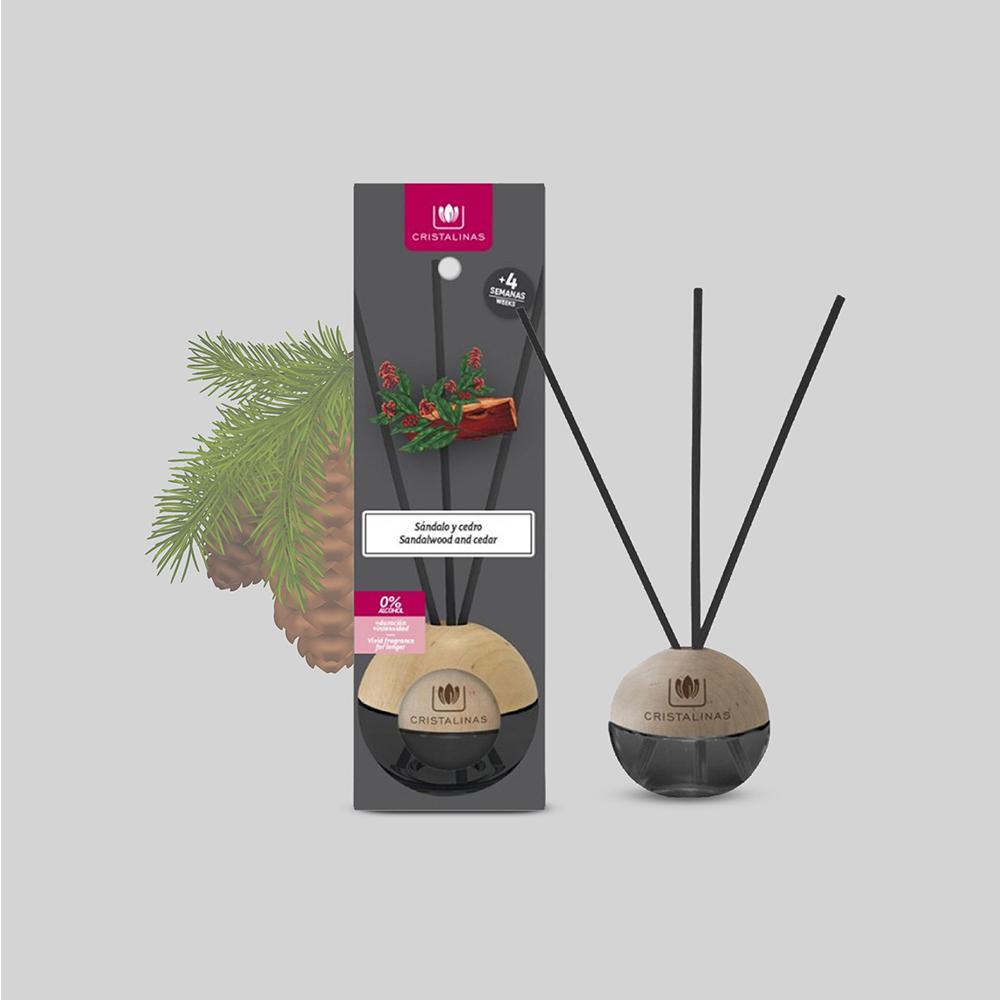 Cristalinas 迷你球形植萃香氛(20ML)- 檀香雪松