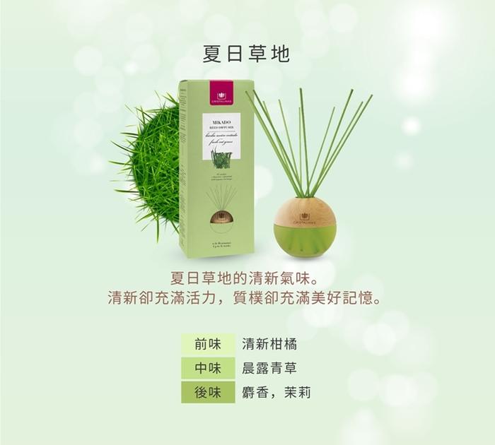 Cristalinas|居家球形植萃香氛 (180ML) - 清新草香