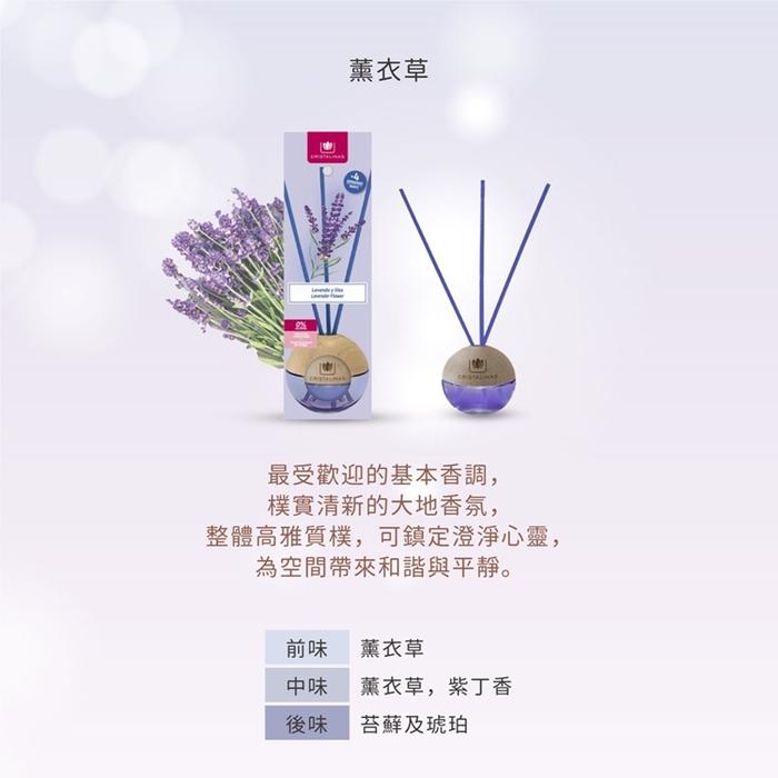 Cristalinas|迷你球形植萃香氛(20ML)- 薰衣草