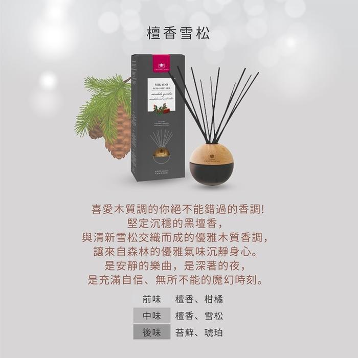 Cristalinas|居家球形植萃香氛 (180ML) - 檀香雪松