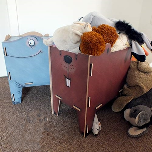 Werkhaus|童趣動物收納箱(大象)
