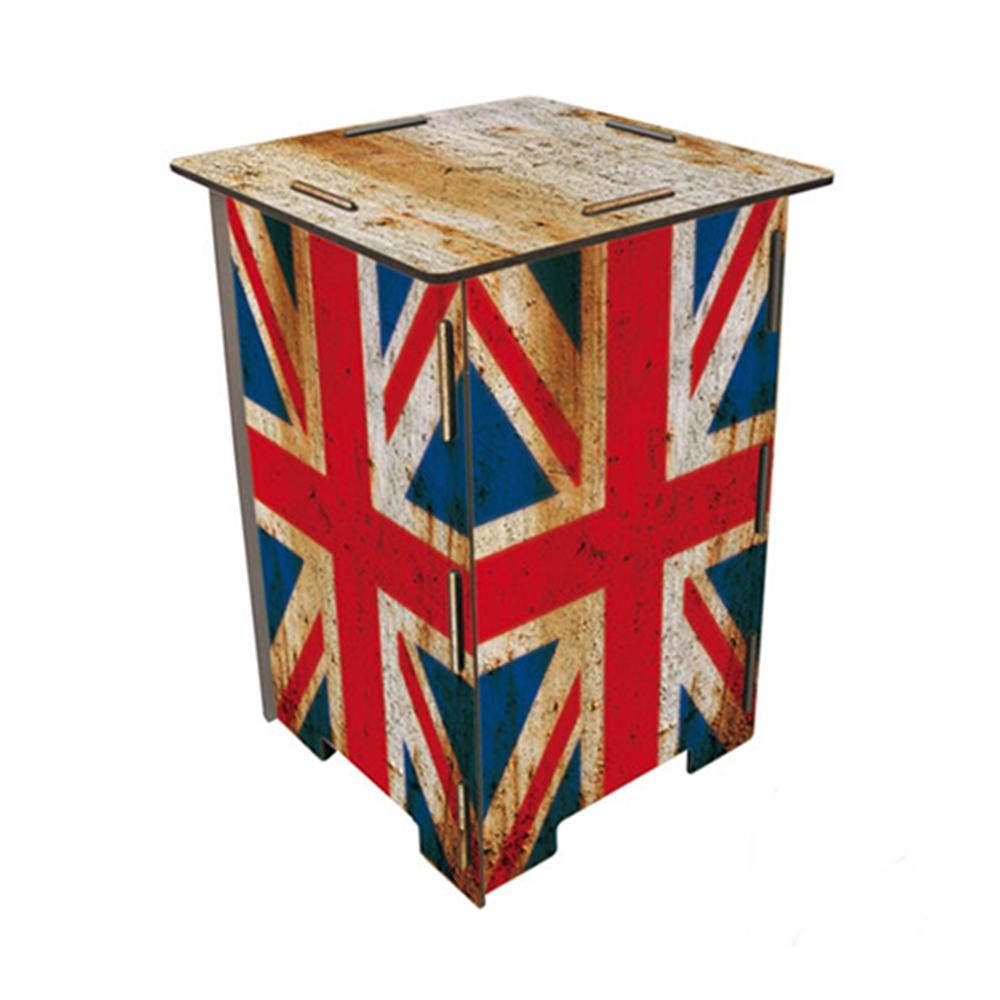 Werkhaus|彩印經典木凳儲物組(老英國)
