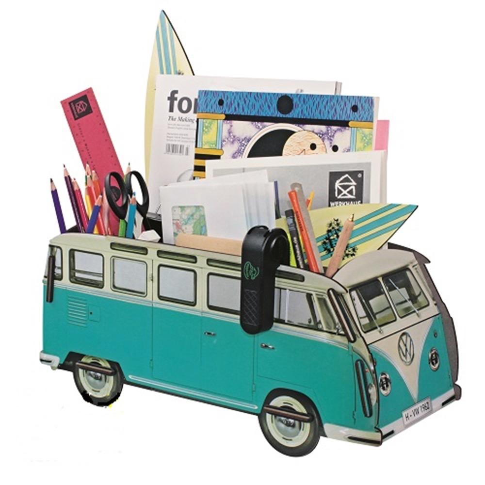 Werkhaus|福斯VW T1巴士整理盒 (藍)