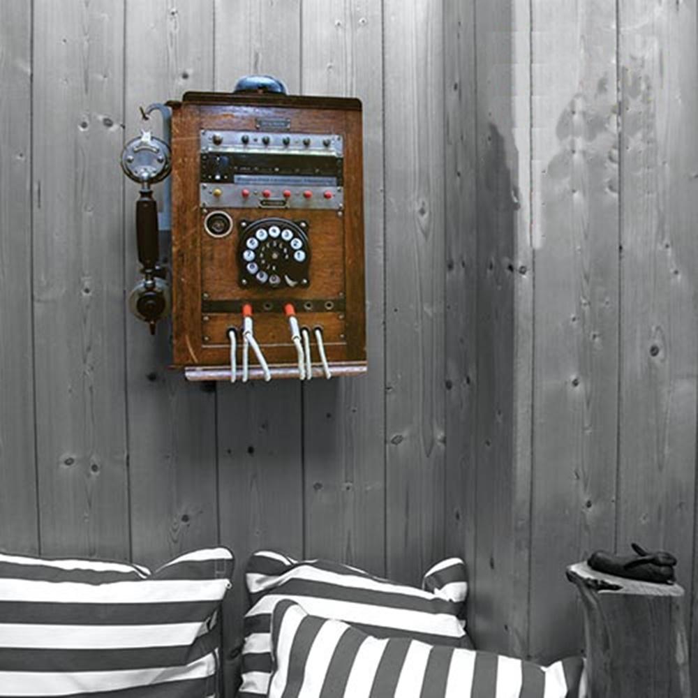 Werkhaus|復古電話造型置物櫃 (木頭色)
