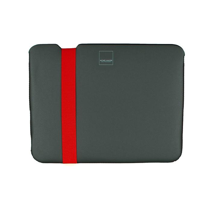 Acme Made|12''MacBook Skinny筆電包內袋 -灰/橘-XXS
