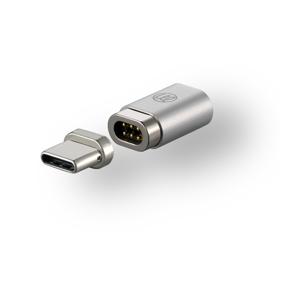 OneMore|iEasy USB-C磁吸轉接頭(純支援充電) Magnetic Adapter(銀色)