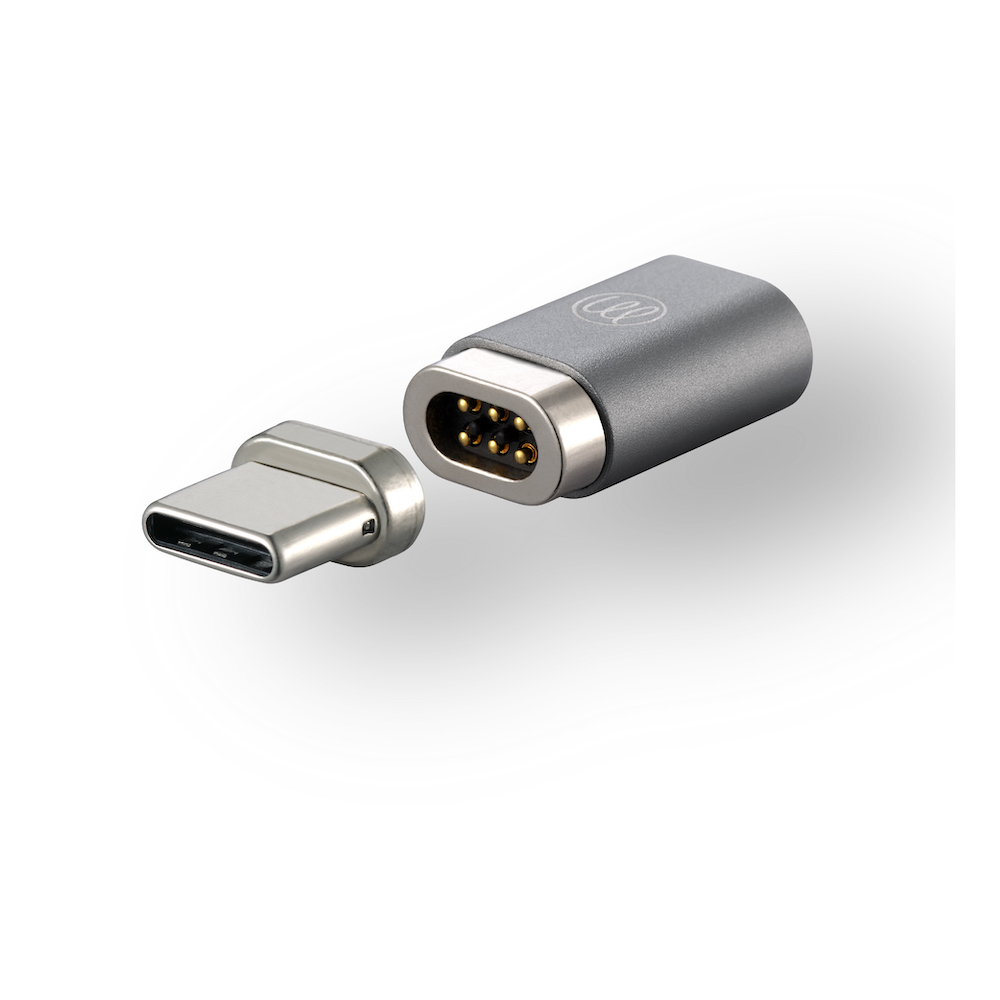 OneMore|iEasy USB-C磁吸轉接頭(純支援充電) Magnetic Adapter(太空灰)
