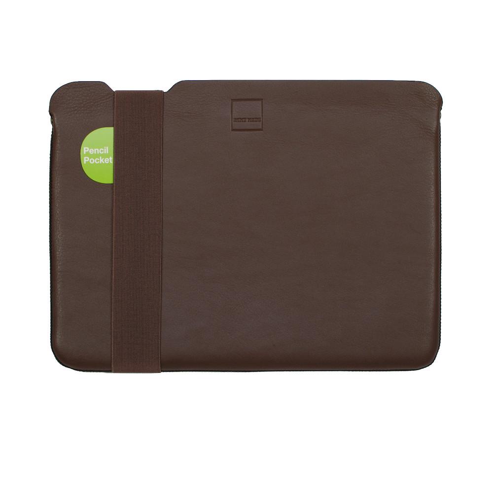 ACME MADE|13''MacBook Pro/Air(USB-C)  Skinny筆電包內袋 - 真皮皮革 - 棕 - SMALL