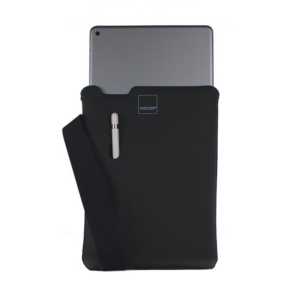 Acme Made|10.5 iPad Pro/Air Skinny平板內袋 -黑/黑-TABLET MEDIUM