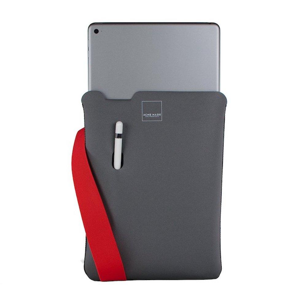 Acme Made|10.5 iPad Pro/Air Skinny平板內袋 -灰/橘-TABLET MEDIUM