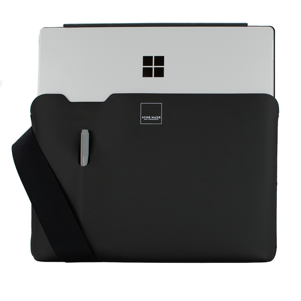 Acme Made|Surface Pro Skinny筆電包內袋 -黑/黑 - XS