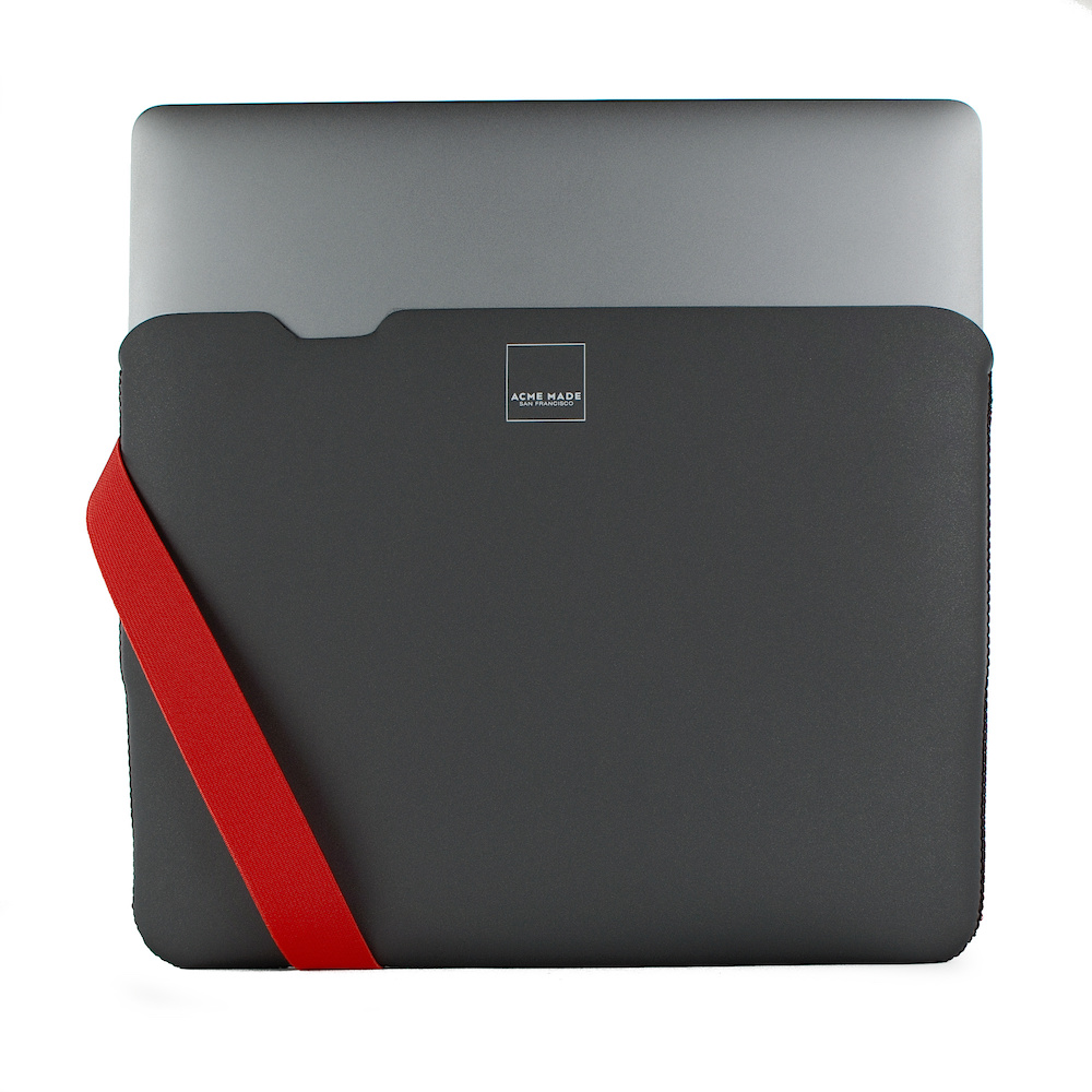 Acme Made|13''MacBook Pro/Air(USB-C)  Skinny筆電包內袋 -灰/橘-SMALL