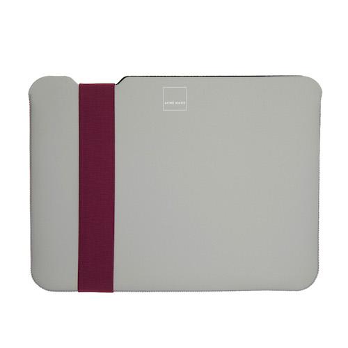 Acme Made 13''MacBook Pro/Air(USB-C)  Skinny筆電包內袋 -灰/紫-SMALL