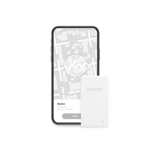Chipolo|Chipolo CARD 超薄卡式防丟小幫手 - 白