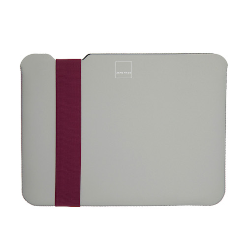 Acme Made|Surface Pro Skinny筆電包內袋 -灰/紫 - XS